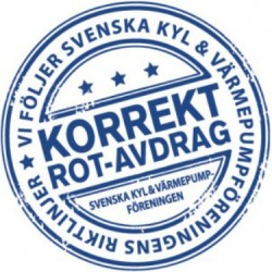 Korrekt ROT-avdrag logotype